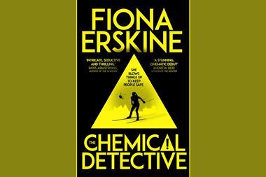 An image showing the book cover of Chemical Detective