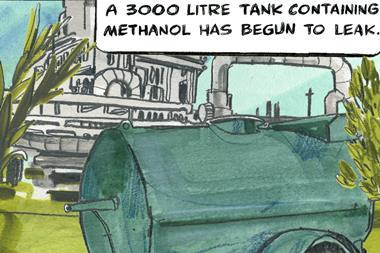 Methanol tank index