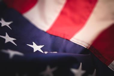 American flag material