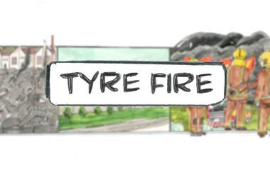 On the spot   tyre fire index image