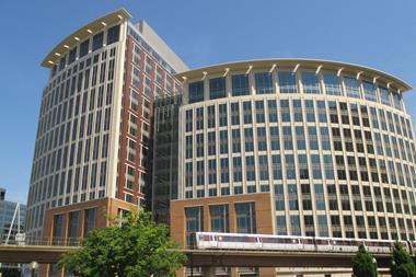 Photograph of the National Science Foundation headquarters building in Virginia, USA