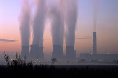 A picture of the Drax coal power station