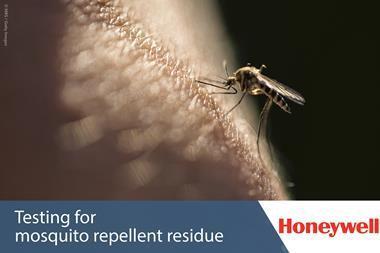 Honeywell white paper - testing for mosquito repellent residue