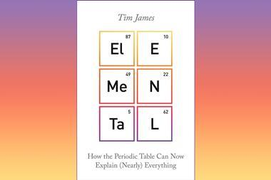 A picture showing the book cover of Elemental