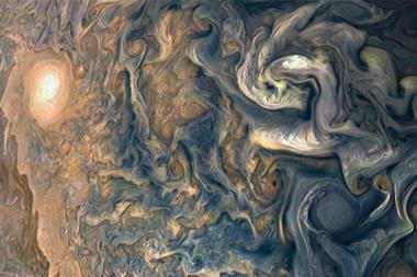 Jupiter's tumultuous atmosphere