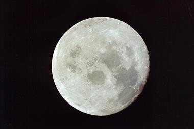 An image showing the Moon