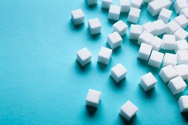 An image showing sugar cubes