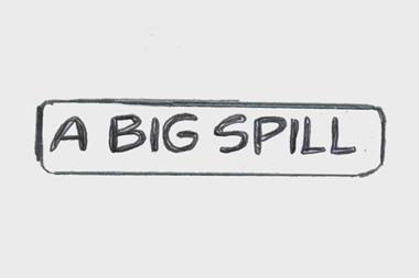 A big spill