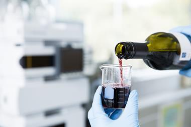 Wine sample preparation for testing