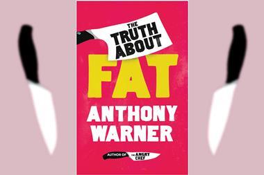 The book cover of The truth about fat