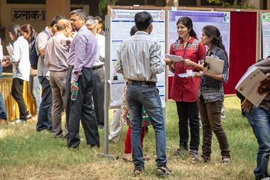 Poster presentations at the Royal Society of Chemistry India roadshow