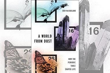 Book cover for A world from dust - Ben McFarland