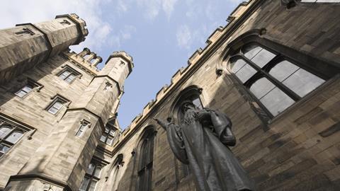 Edinburgh University, Scotland, NIB