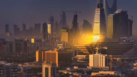 Al Faisaliyah Centre and Kingdom Centre at Riyadh, Saudi Arabia - Hero