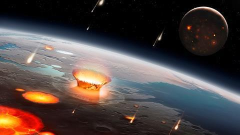 Meteorites' mechanical energy might have created building