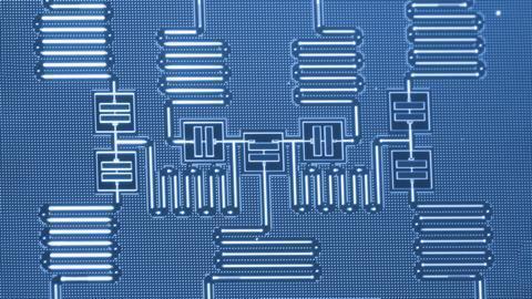 Superconducting quantum processor