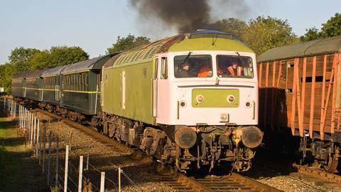 An image showing a Diesel Train