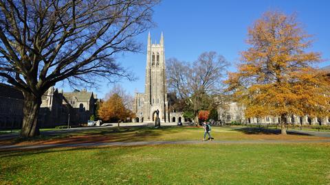 An image showing Duke University