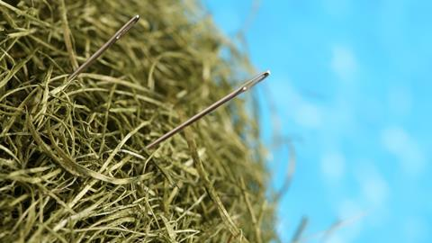 0817CW - In the Pipeline - Needles in the haystack - Hero