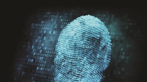 Fingerprint Digital ForensicConcept