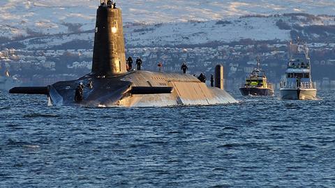 How do you scrap a nuclear submarine?   News   Chemistry World