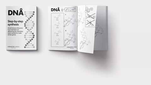 Ikea-style manual for step by step gene synthesis