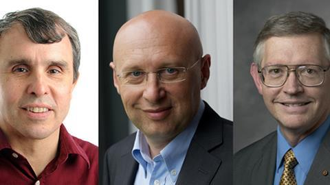 Eric Betzig, Stefan Hell and W E Moerner