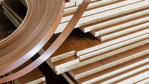 A picture showing chipboards