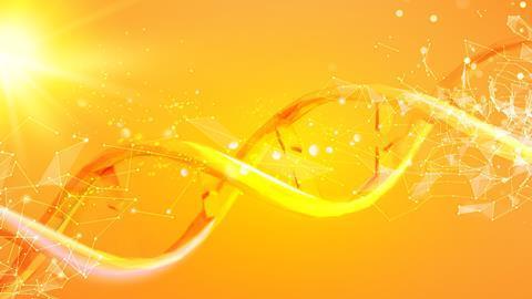 DNA sun damage illustration