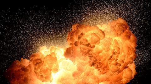 Thermite explosion 174080615