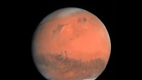 Silica aerogel could heat the surface of Mars enough to