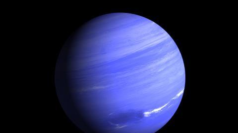 Rendering of the Gas Planet Neptune