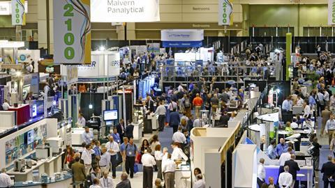 Pittcon expo floor