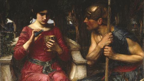 Jason and Medea painting by John William Waterhouse