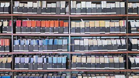 A picture showing filed journals