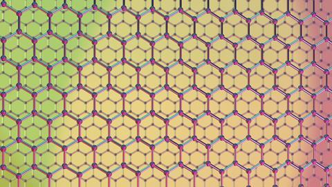 An image showing 2-layer graphene
