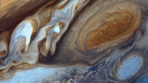 0318CW - In the Pipeline - Jupiter's Great Red Spot Viewed by Voyager I