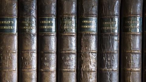 Gmelin's handbooks