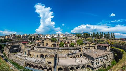 View of Herculaneum