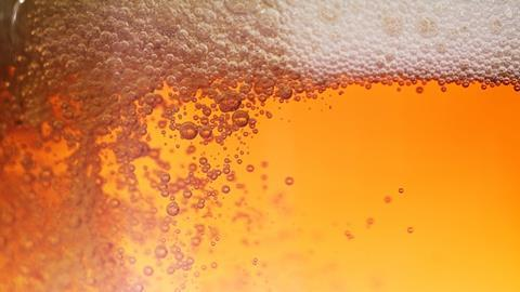 Bubbles in beer