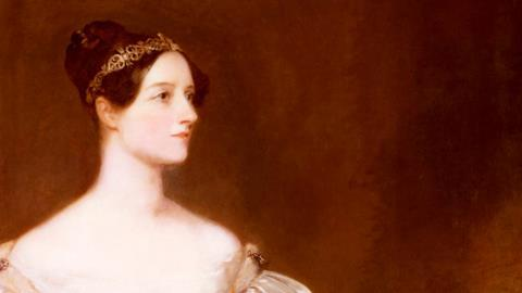 A painting of the British computer pioneer, Ada Lovelace