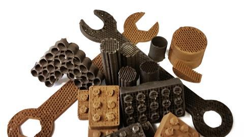 Tools & building blocks 3D printed using lunar & martian dust