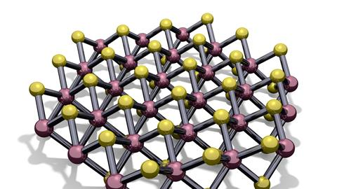 A single layer of molybdenum disulfide
