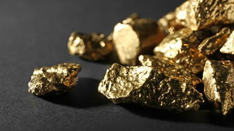 An image showing gold nuggets
