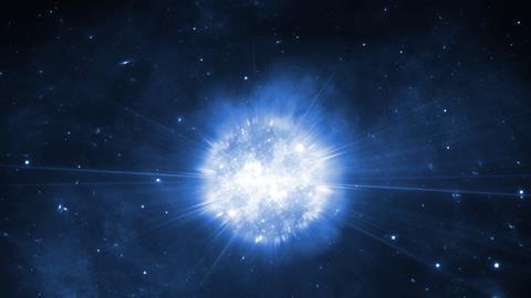 A supernova concept image