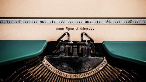 An image showing an old typewriter