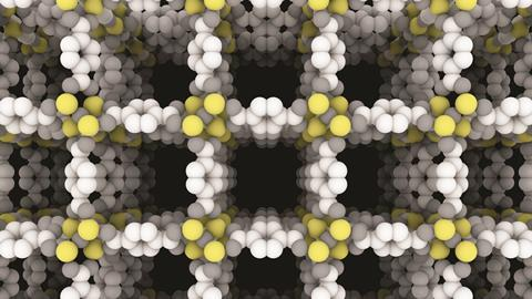 0218CW - Critical Point - Metal organic framework structure