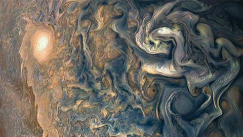 Jupiter's tumultuous atmosphere
