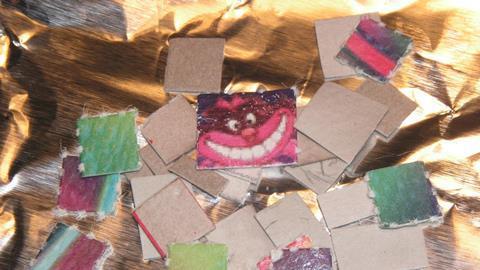 Various LSD blotters