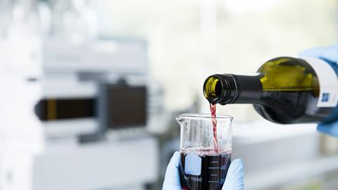 Wine sample preparation for testing